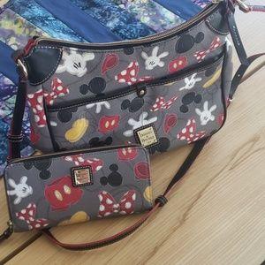 Disney purse and wallet